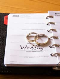 Wedding planner co-ordinator