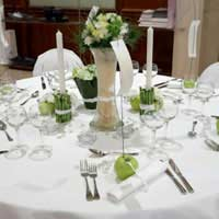 Wedding decoration centrepieces